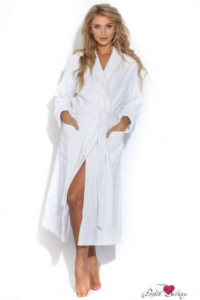 Махровый банный халат с капюшоном и карманами, чтобы впитывал влагу хорошо