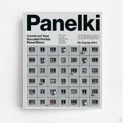 Книга-конструктор Zupagrafika Panelki (Панельки)