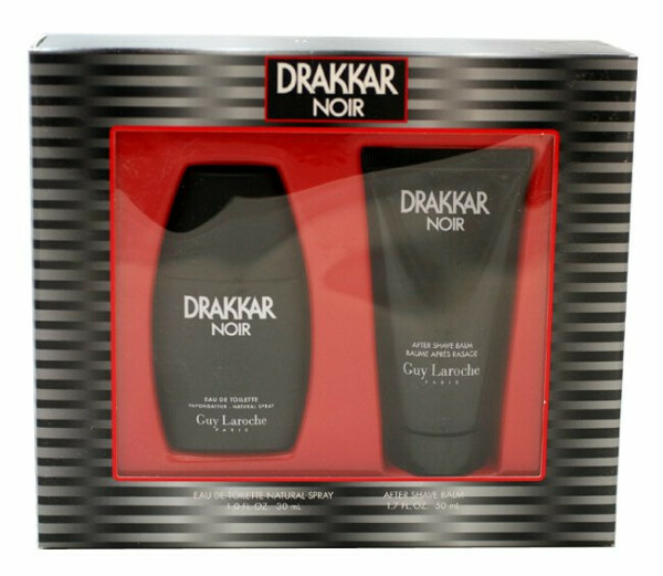 Drakkar Noir Cologne by Guy Laroche 2 Pc.gift Set