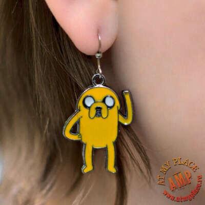 "Серьги ""Джейк"" - Adventure Time"