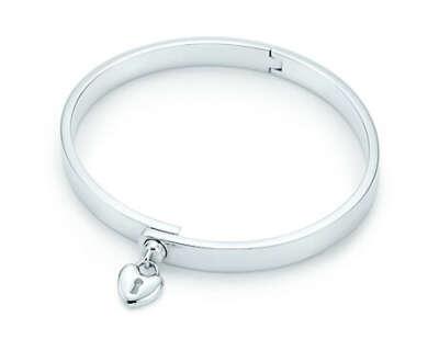 Tiffany Locks heart lock bangle