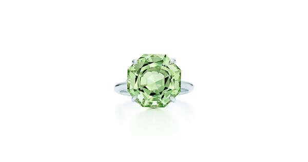 Tiffany & Co. -  Tiffany Sparklers:Green Quartz Ring