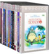 Коллекция дисков Хаяо Миядзаки