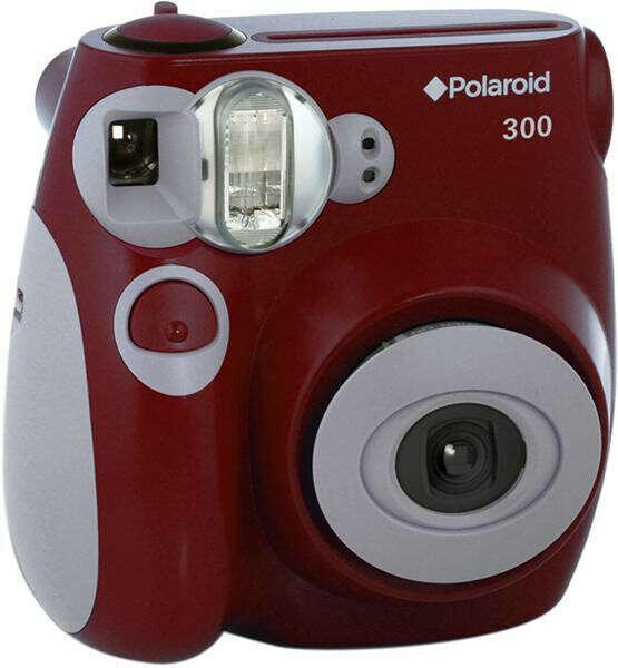 Моментальный фотоаппарат Polaroid 300, PIC300 красный