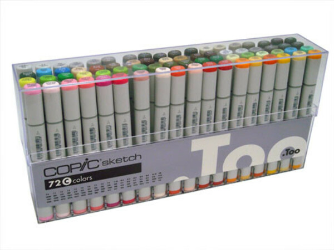 Набор маркеров B COPIC SKETCH (72 шт)
