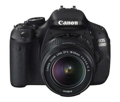 Фотоаппарат Canon EOS 600D 18-55 IS II Kit