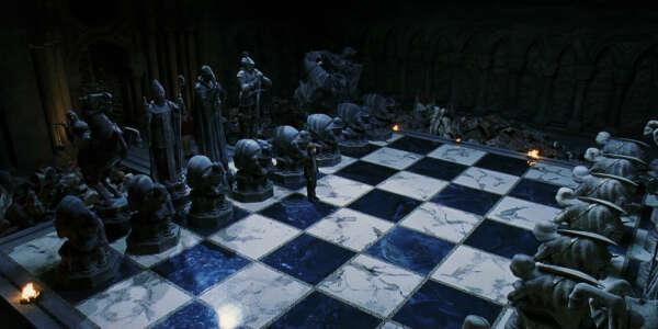 Сыграть партию в шахматы в Хогвартсе