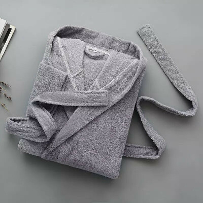Теплый махровый халат