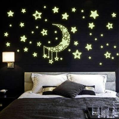 Светящиеся наклейки-звезды
