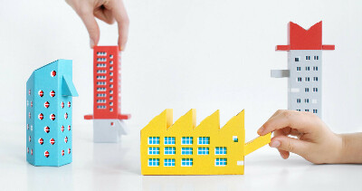 The Constructivist  : Build Your Own Russian Constructivist Playground - by Zupagrafika