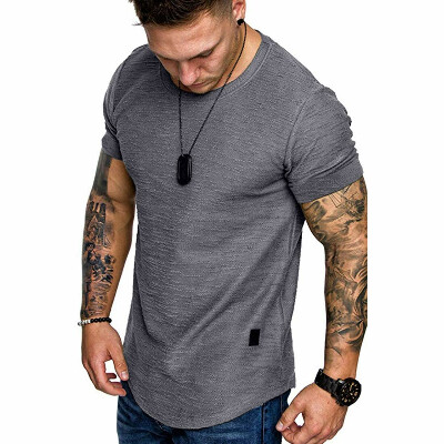 Fashion Mens T Shirt Muscle Gym Workout - Buy Online in Great Britain at Desertcart