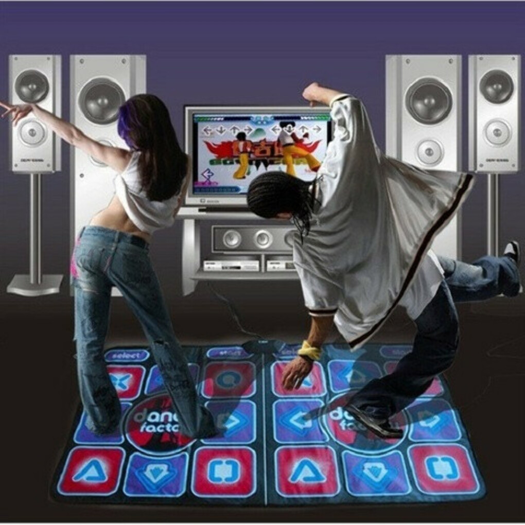 Танцевальный коврик для двоих Dance Perfomance II, купить в интернет-магазине Marketru.ru