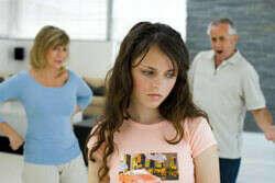Хорошие отношения с родителями.