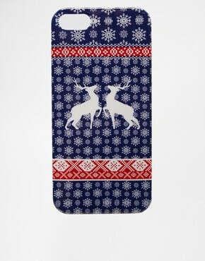 """Чехол для iPhone 5 с принтом """"рождественский джемпер"""" ASOS"""