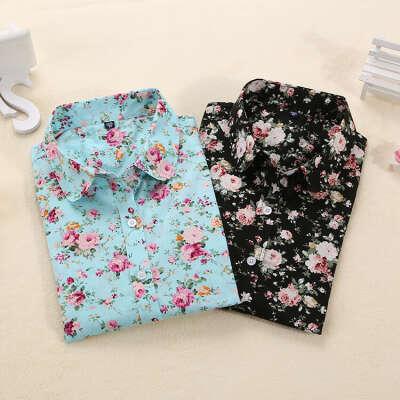 Цветочные блузки