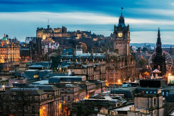 Посетить Эдинбург