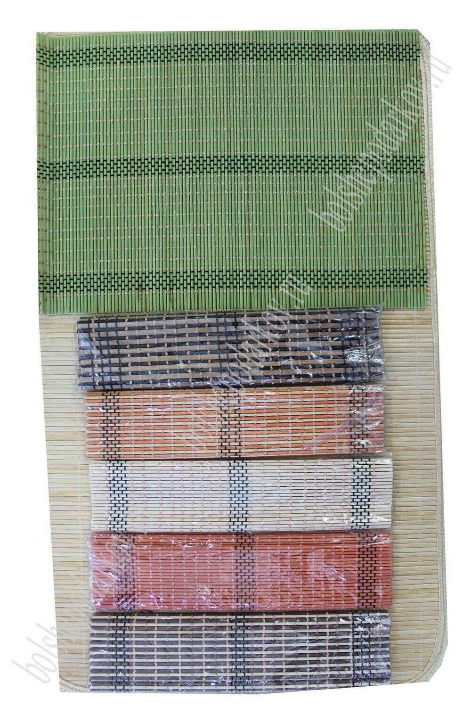 Бамбуковые салфетки под горячее