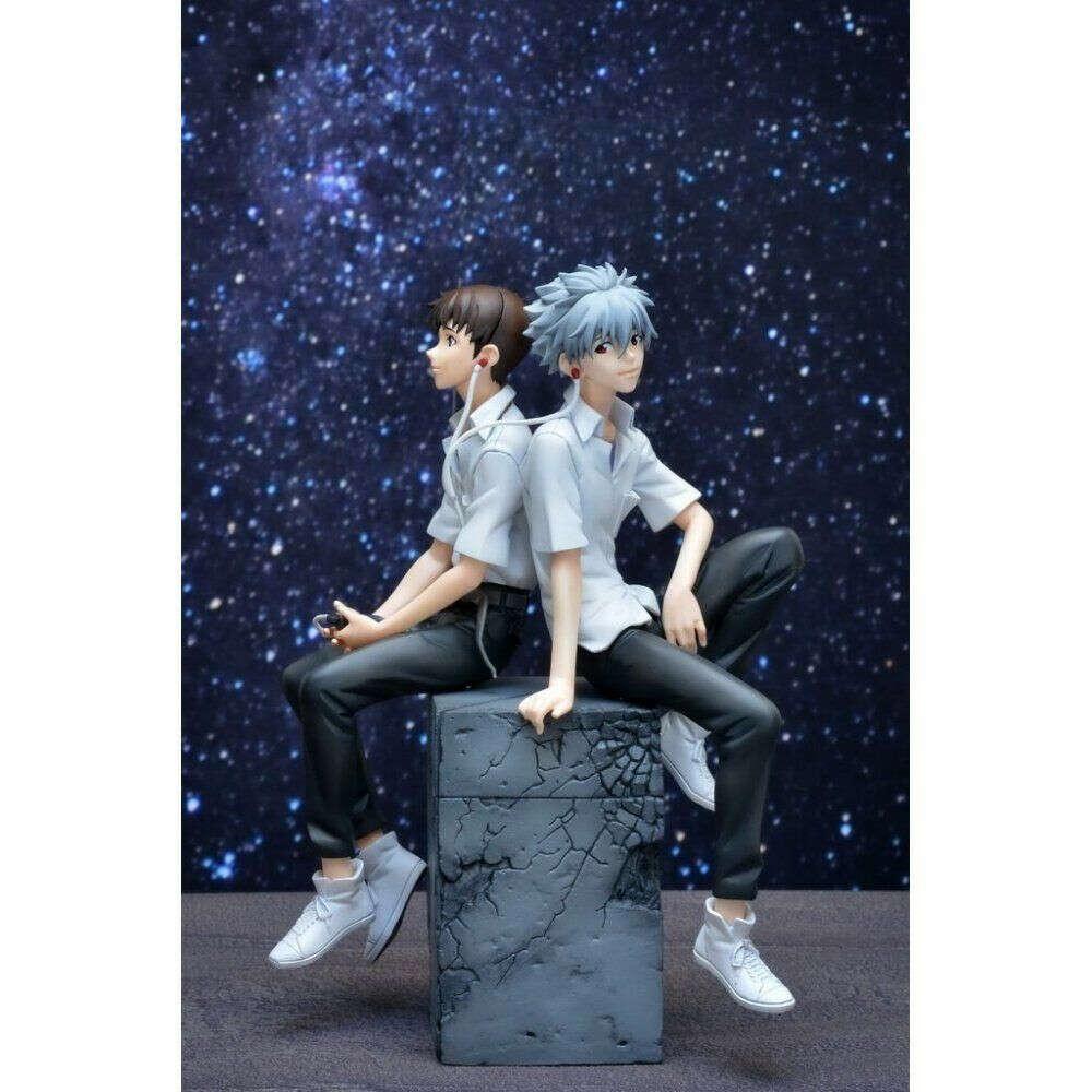 Sega Evangelion 3.33 SHINJI IKARI & KAWORU NAGISA PVC Figure Set