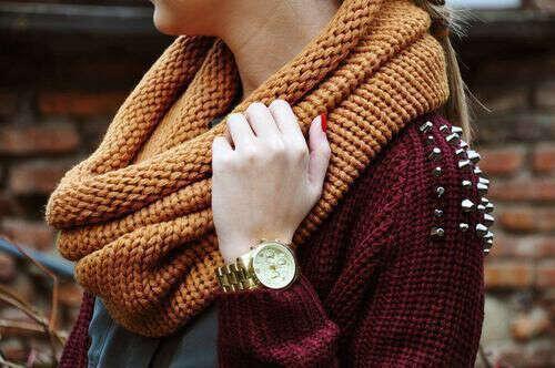 Связать новый шарф