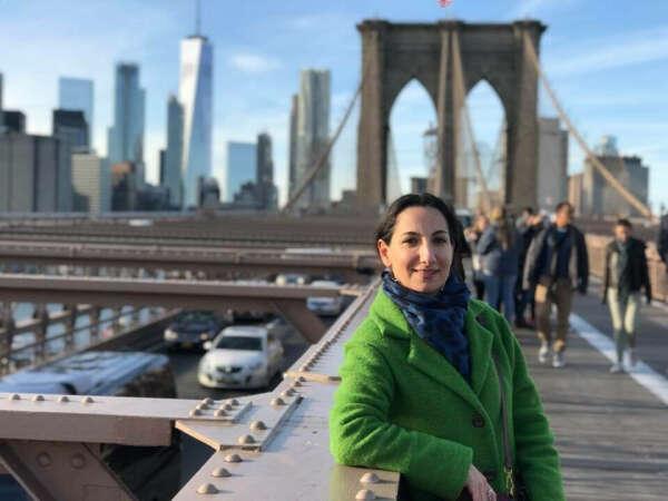В Нью-Йорк с Марией Сахиновой