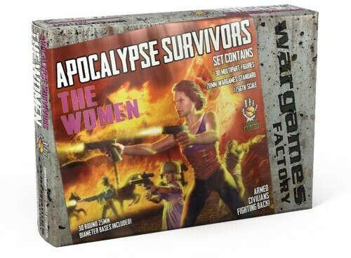 Apocalypse Survivors Women