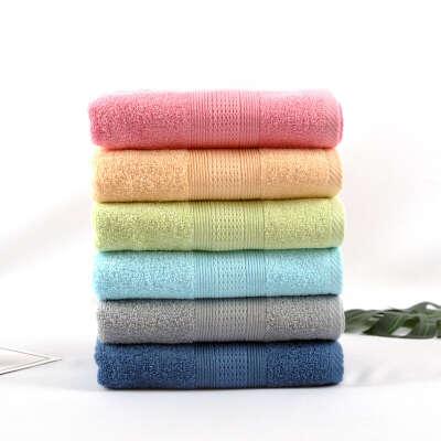 Большое мягкое банное полотенце