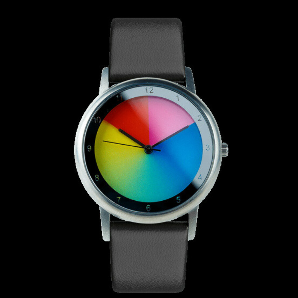 rainbow emotion of colors watch