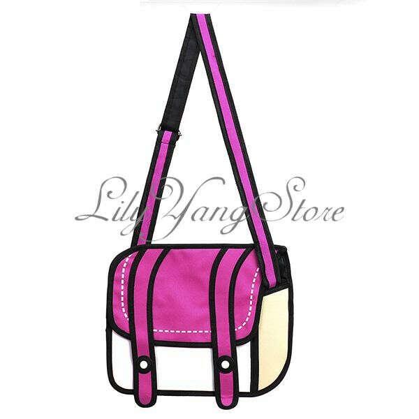 Мультяшная 2d сумка