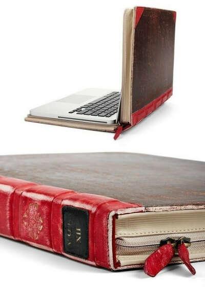 Чехол - книга для MacBook Air 11