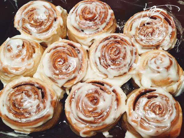 Испечь булочки как в синнабоне