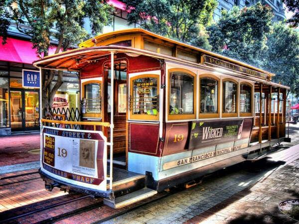 прокатиться на трамвайчике в Сан-Франциско