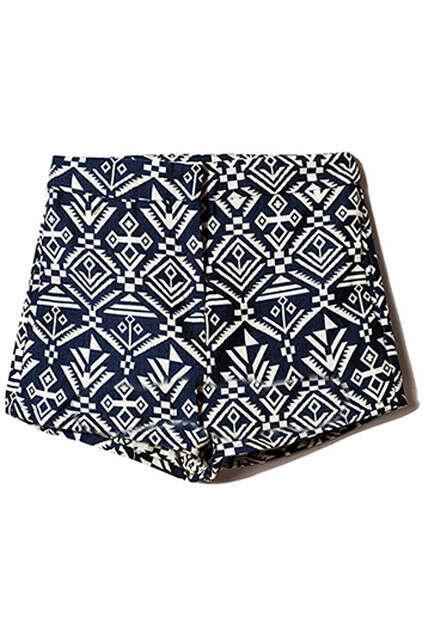Geometric Pattern Shorts