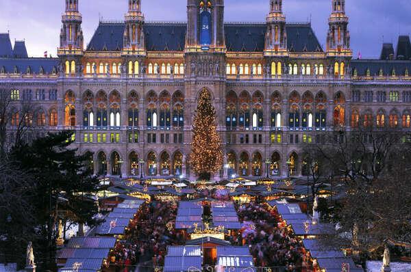 встретить Рождество в Вене