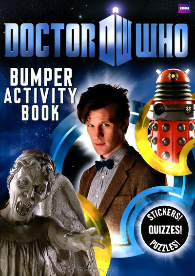 Doctor Who Bumper Activity Book (+наклейки)
