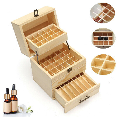3 Tier Essential Oil Storage Box Case Container Aromatherapy stores 59 bottles   eBay