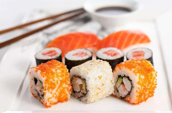 Хочу попробывать суши
