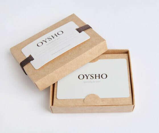 Подарочная карта OYSHO