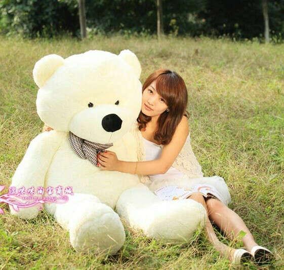 Огромного медведя