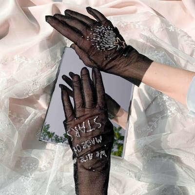 Перчатки ручной работы usta.k.perstam