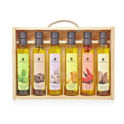 Набор оливковых масел с разными вкусами