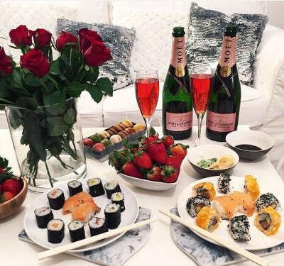 Шикарный романтический ужин