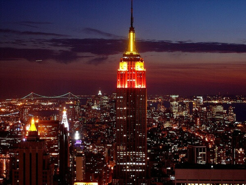 Побывать на крыше Empire State Building, New York