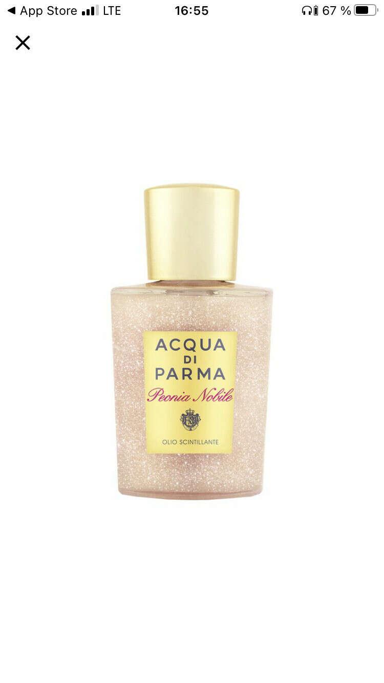 Aqua di Parma мерцающее масло с пионом
