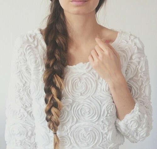 Длинные и густые волосы