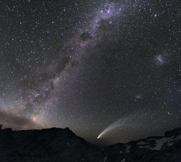 Увидеть звездное небо.