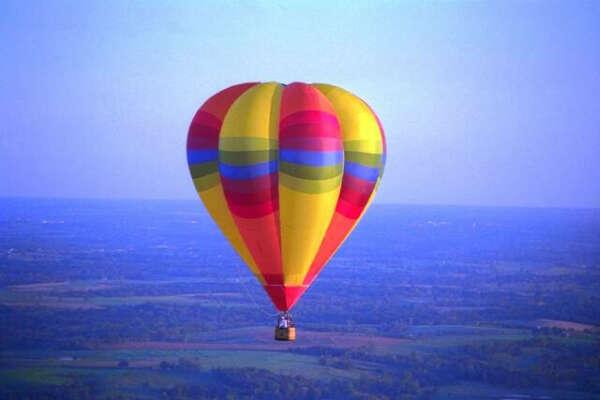 Полетать на на воздушном шаре!