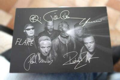 Хочу автографы Rammstein.
