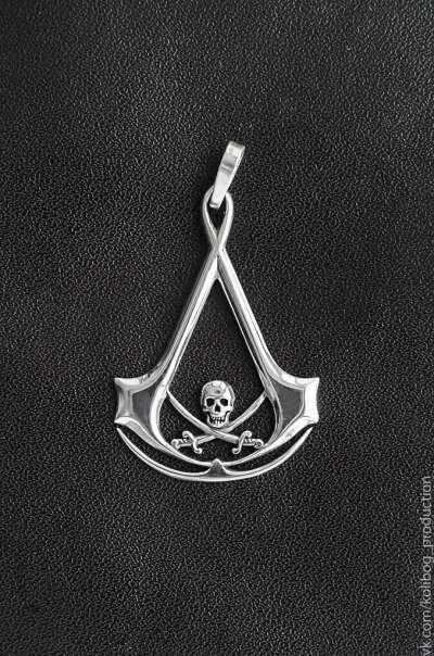 Медальон Assassins Creed