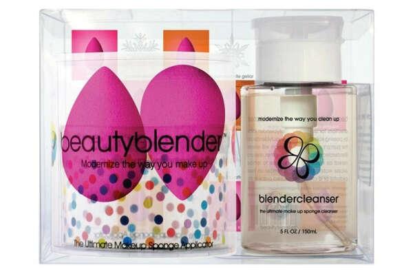 Beautyblender 2 спонжа + Очищающий гель 150 мл