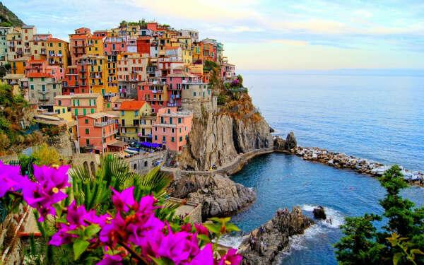 Путешествие по Cinque Terre в Италии